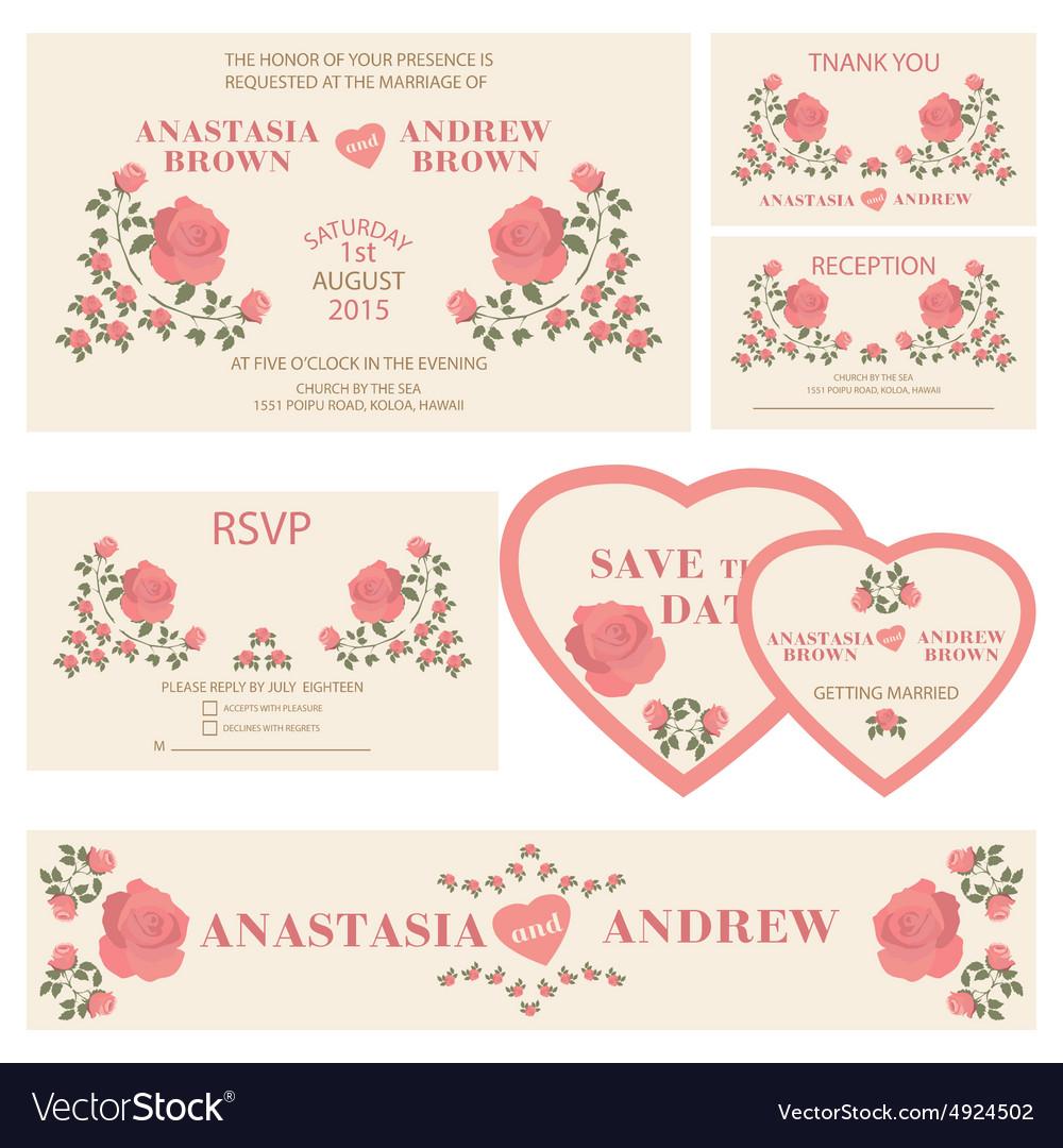 Wedding invitationWedding collection