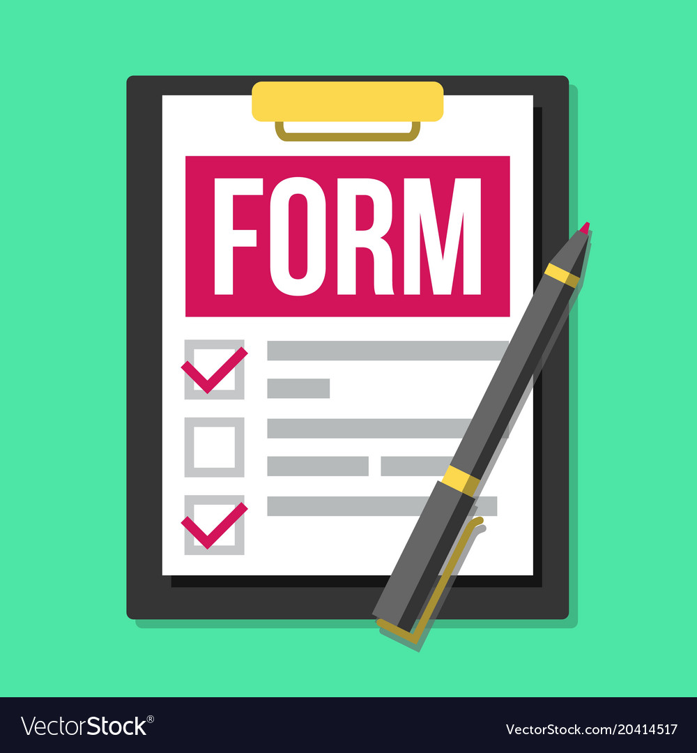 Claim form medical office paperwork