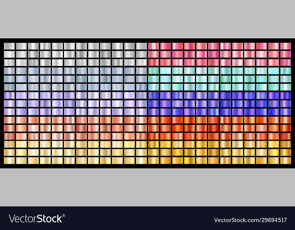 Realistic metal chrome gradient big texture pack