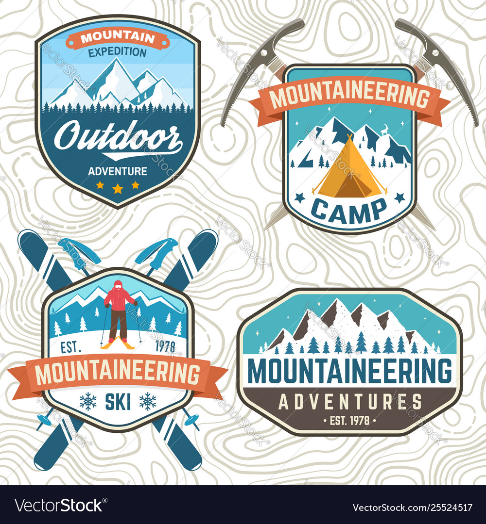 Set mountain expedition patch concept