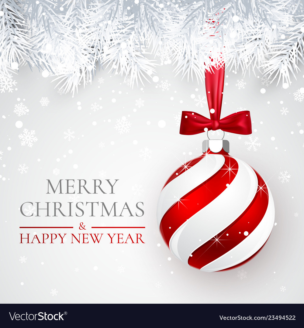 Christmas and new year background with christmas