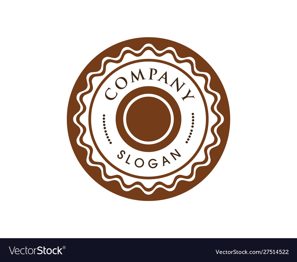 Circle emblem design