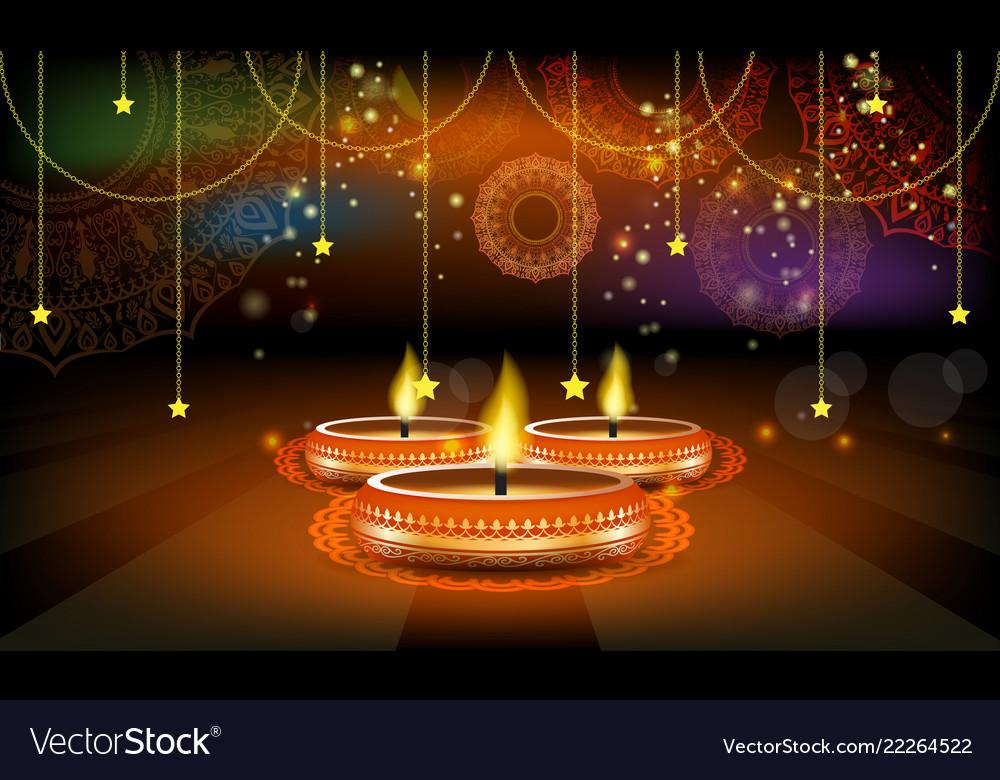 Diwali festival sale poster or flyer or