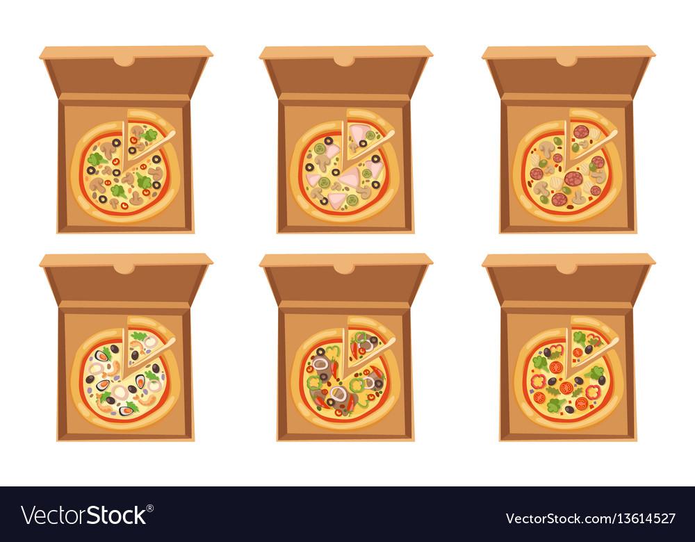 Pizza box cardboard carton