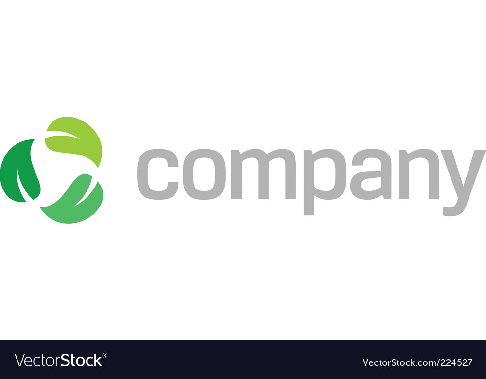 Recycle leaves logo