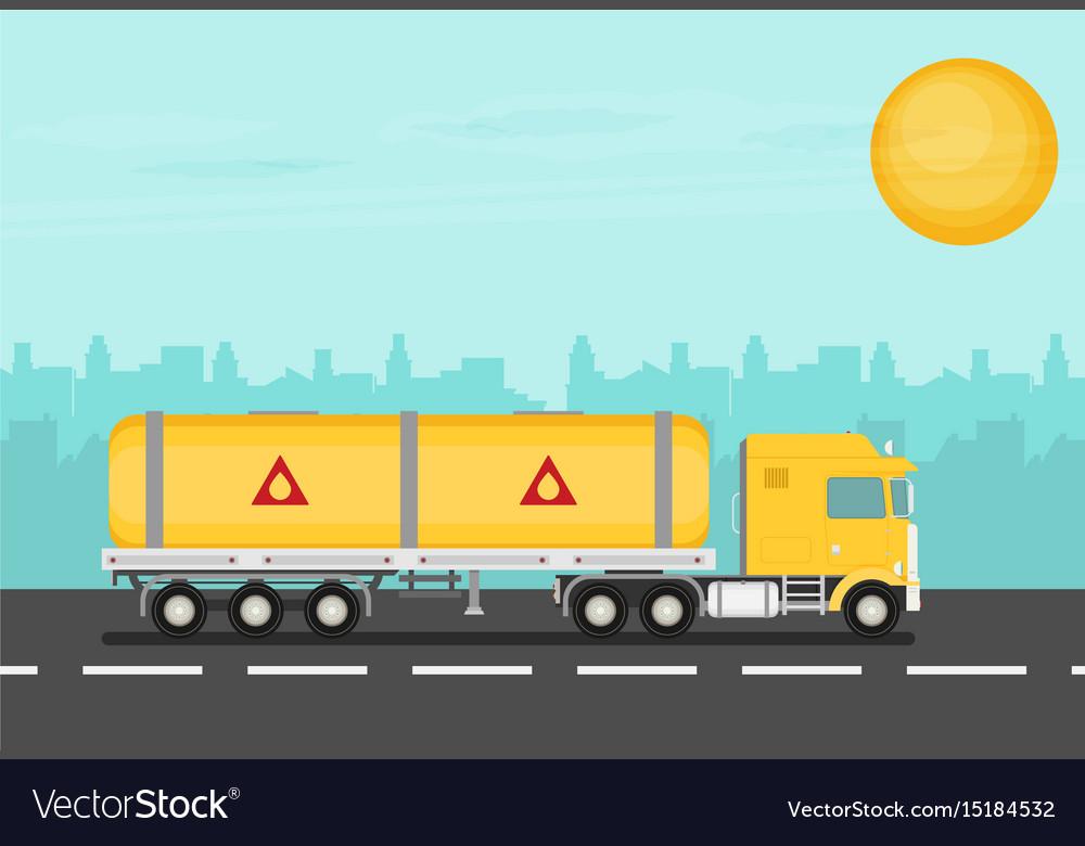Flat truck