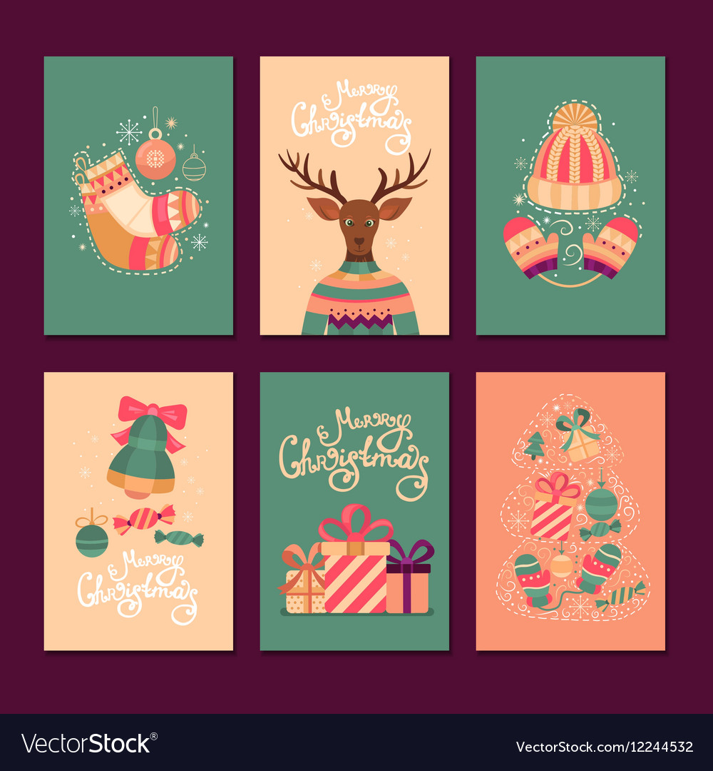 Merry Christmas gift cards