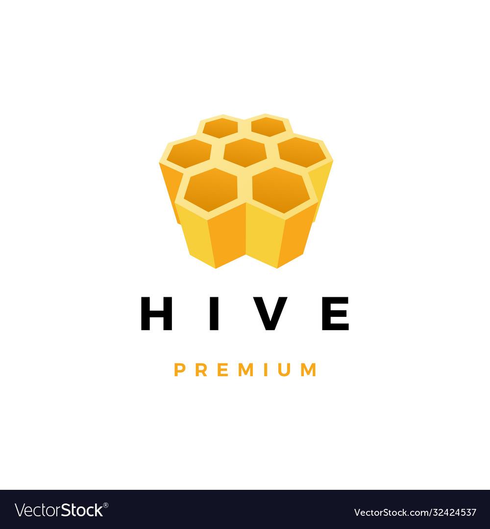 Hive honey logo icon