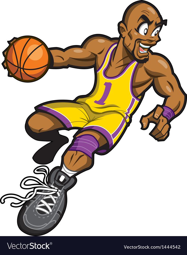 Black Basketball Player