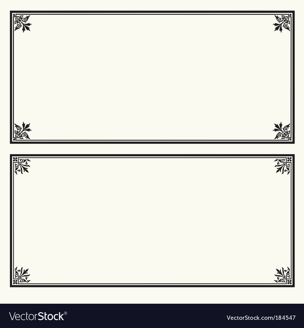 Certificate Frame Crown Royalty Free Vector Image