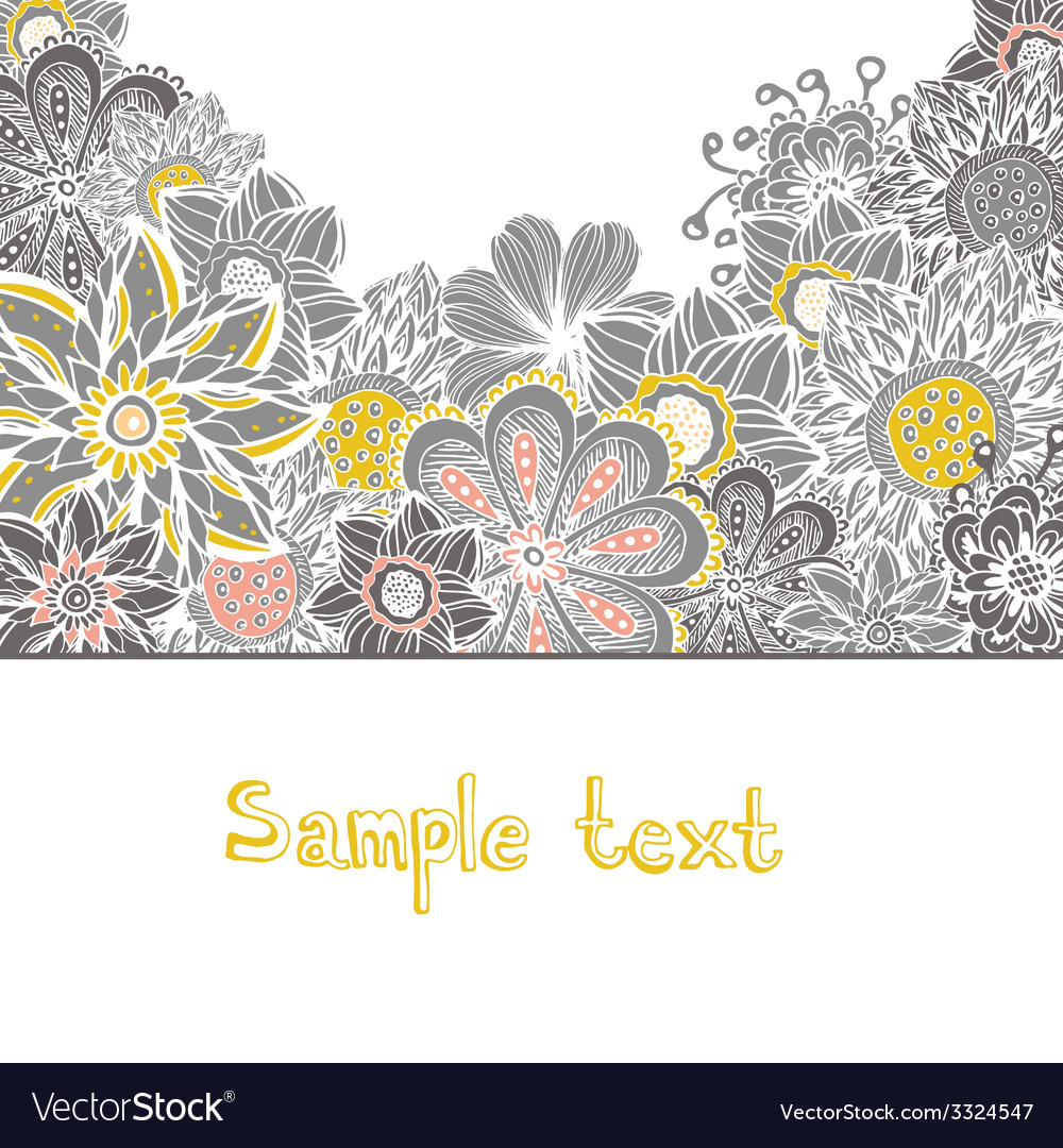FlowerElements41 vector image
