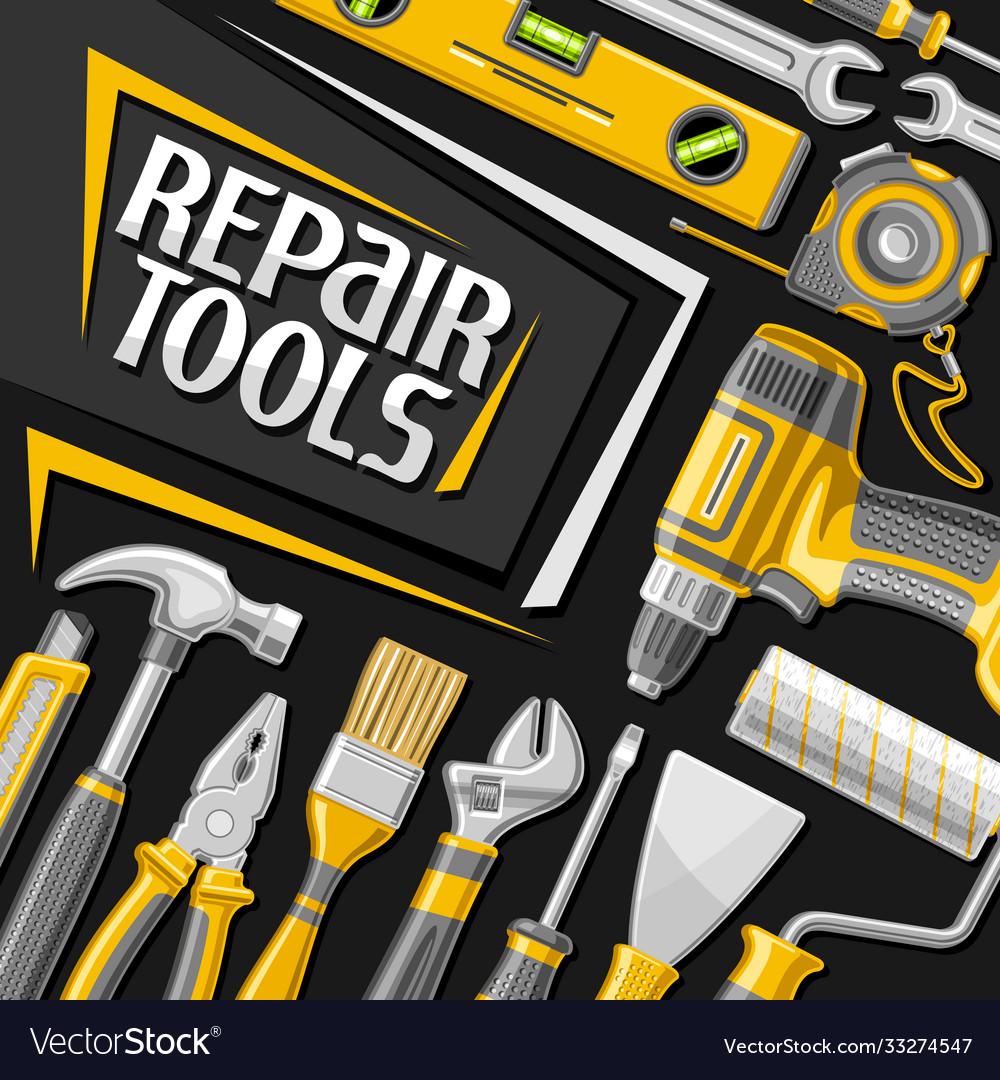 Poster for repair tools