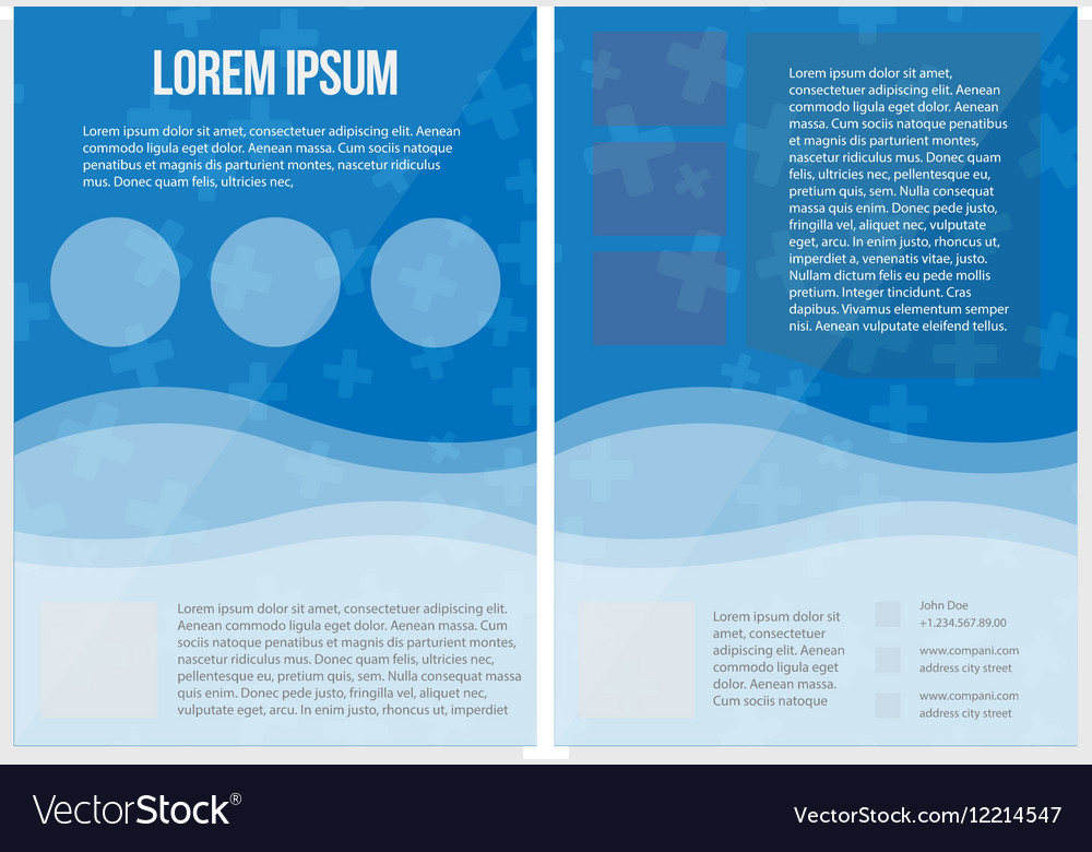 Template design geometric and abstract modern