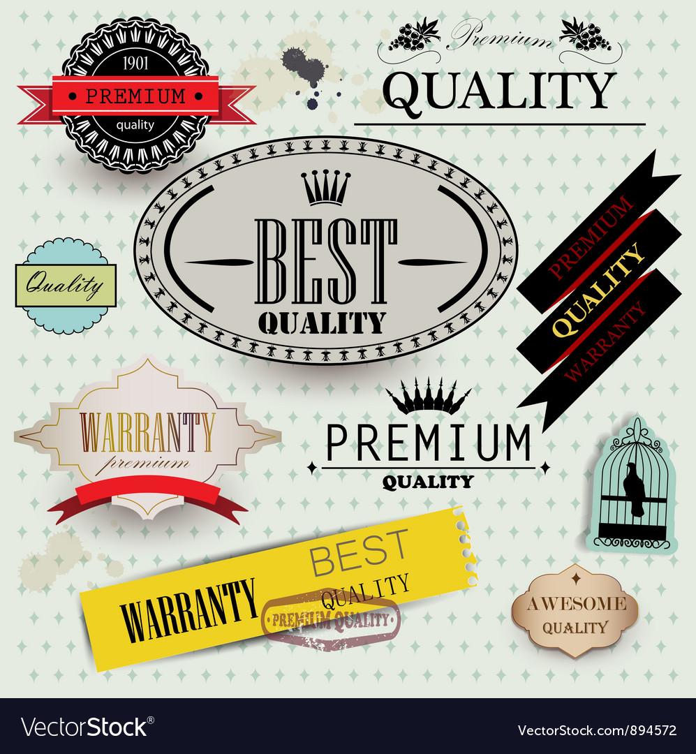 Set of Superior Quality