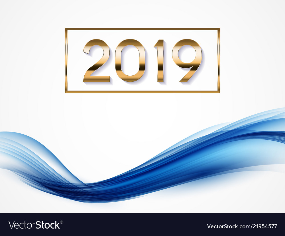 2019 abstract of new year on