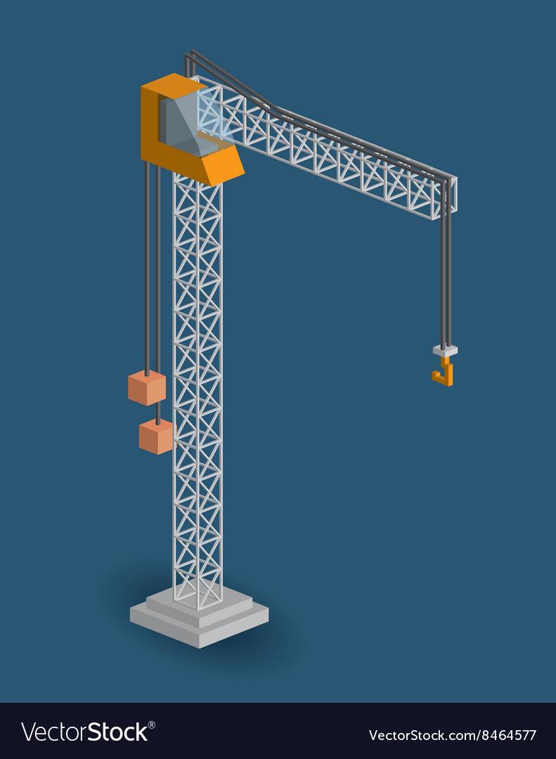 Crane isometric design