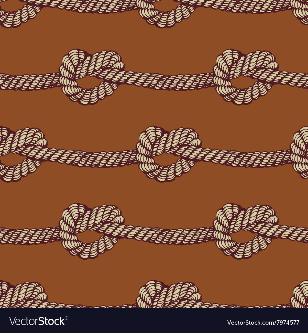 Knot seamless pattern
