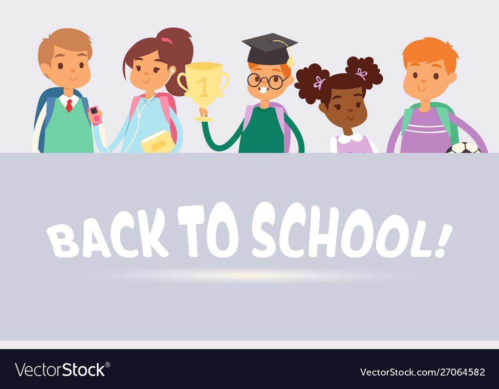 Back to school children cute