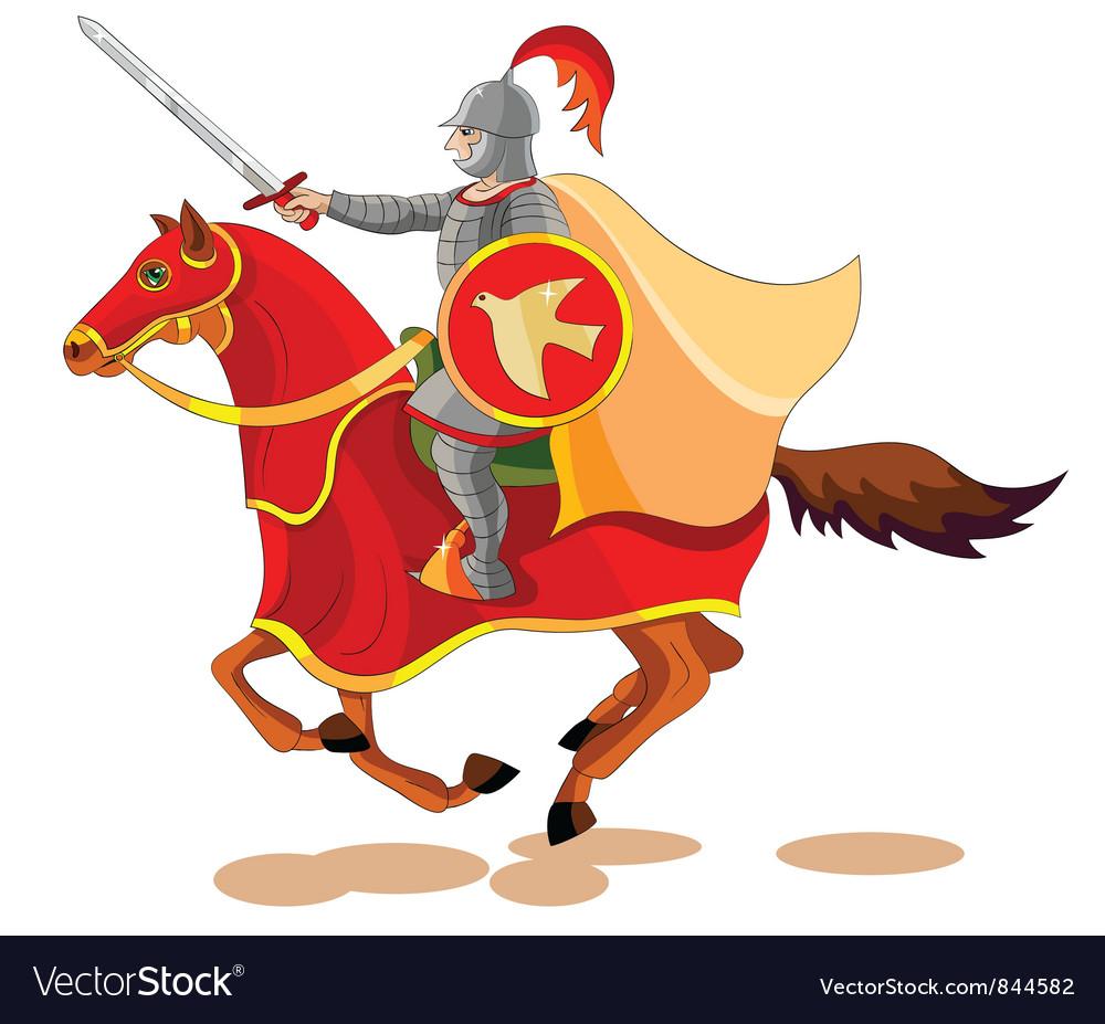 Equestrian Apocalypse War vector image