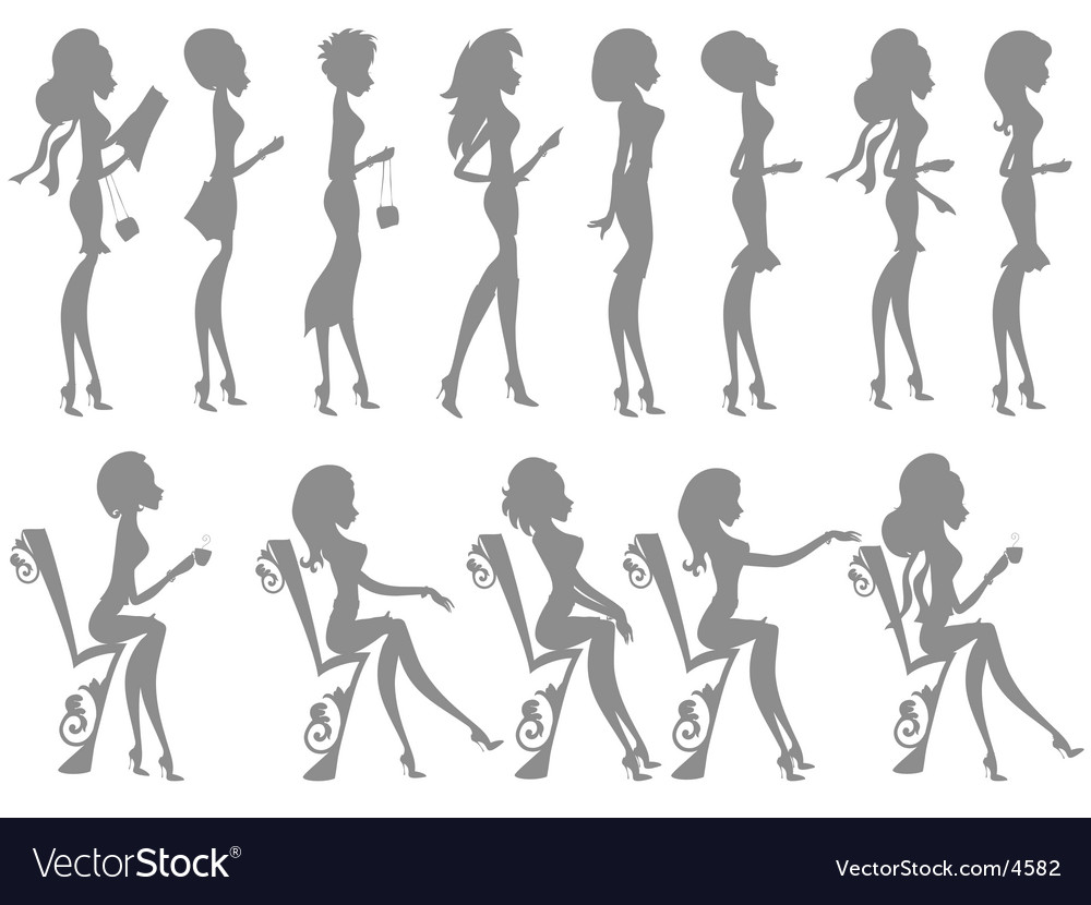 Miss boo silhouettes