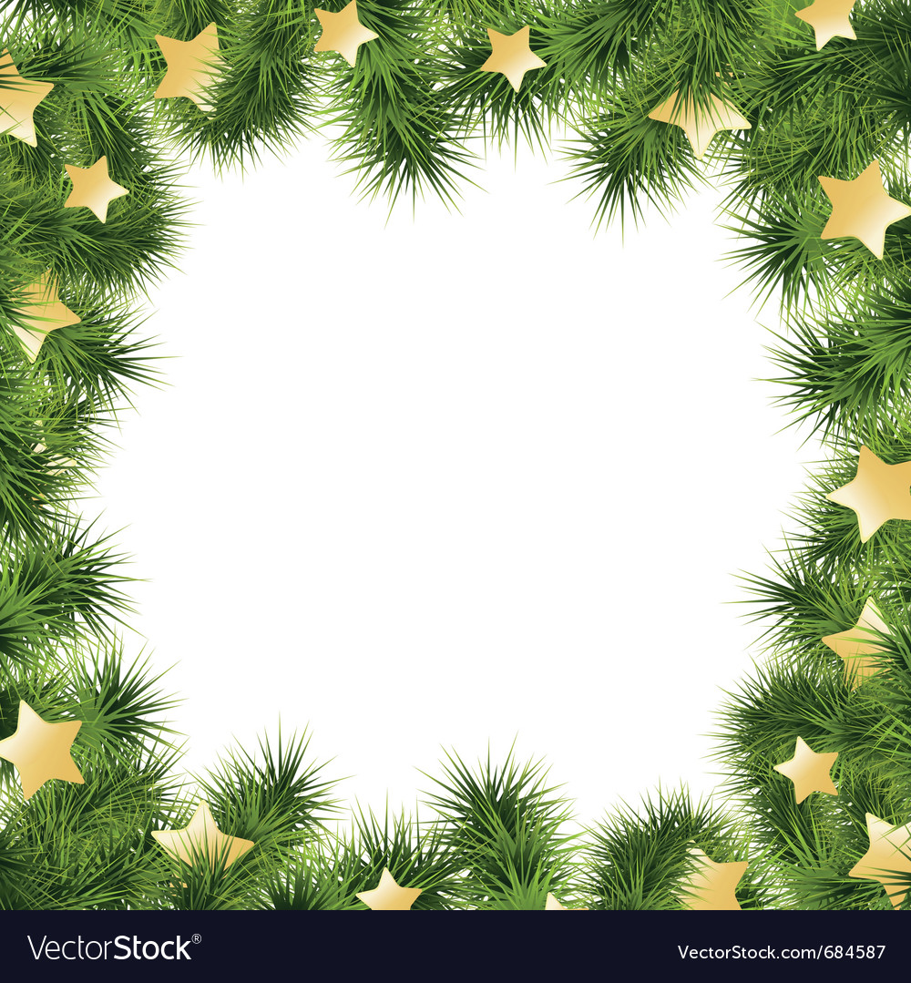 Christmas Card Border.Christmas Card Border