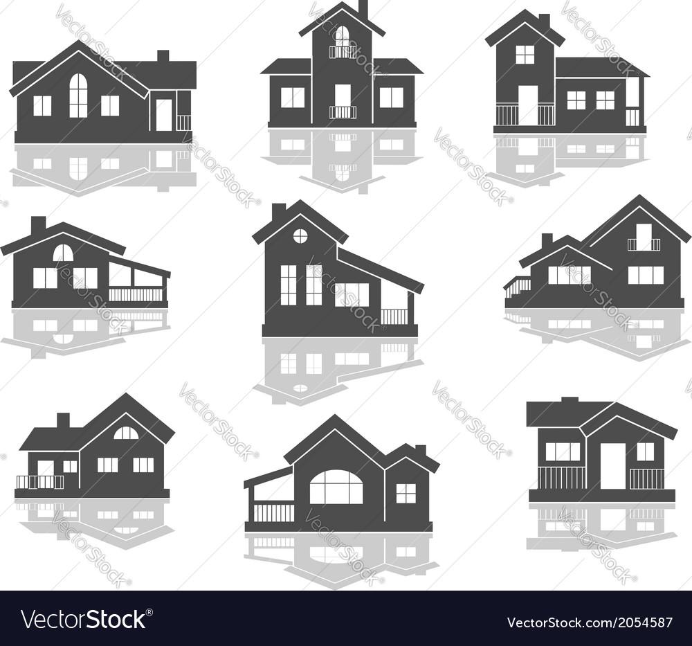 House icons set