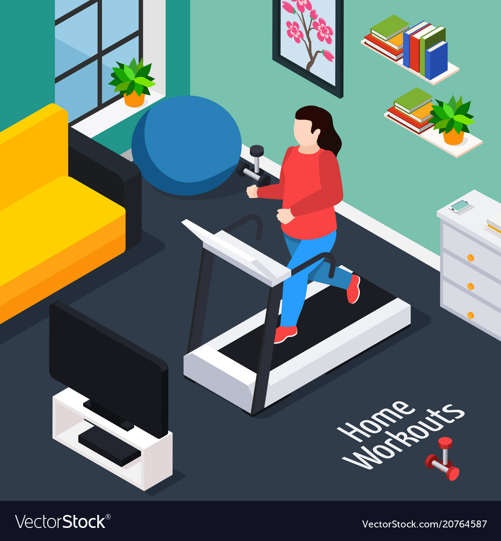 Overweight isometric composition
