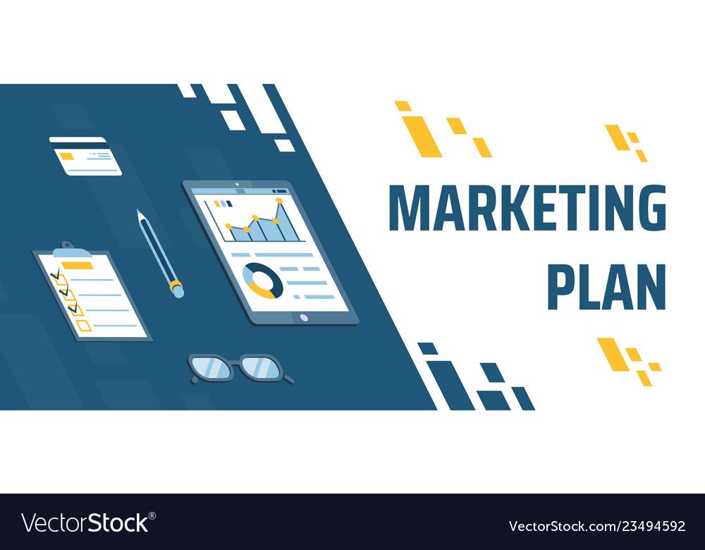 Describing marketing plan a pencil