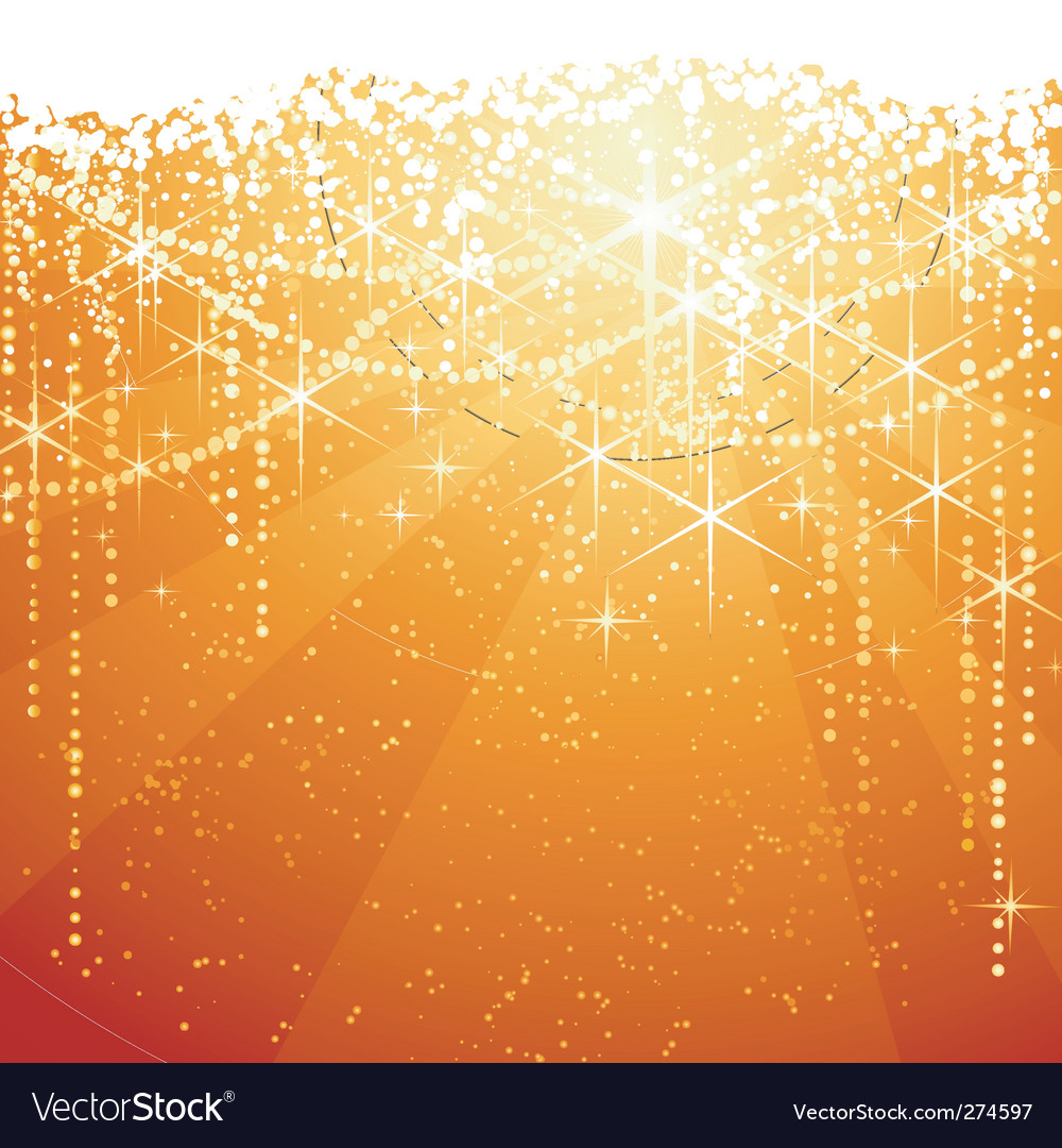 Christmas sparkle background vector image