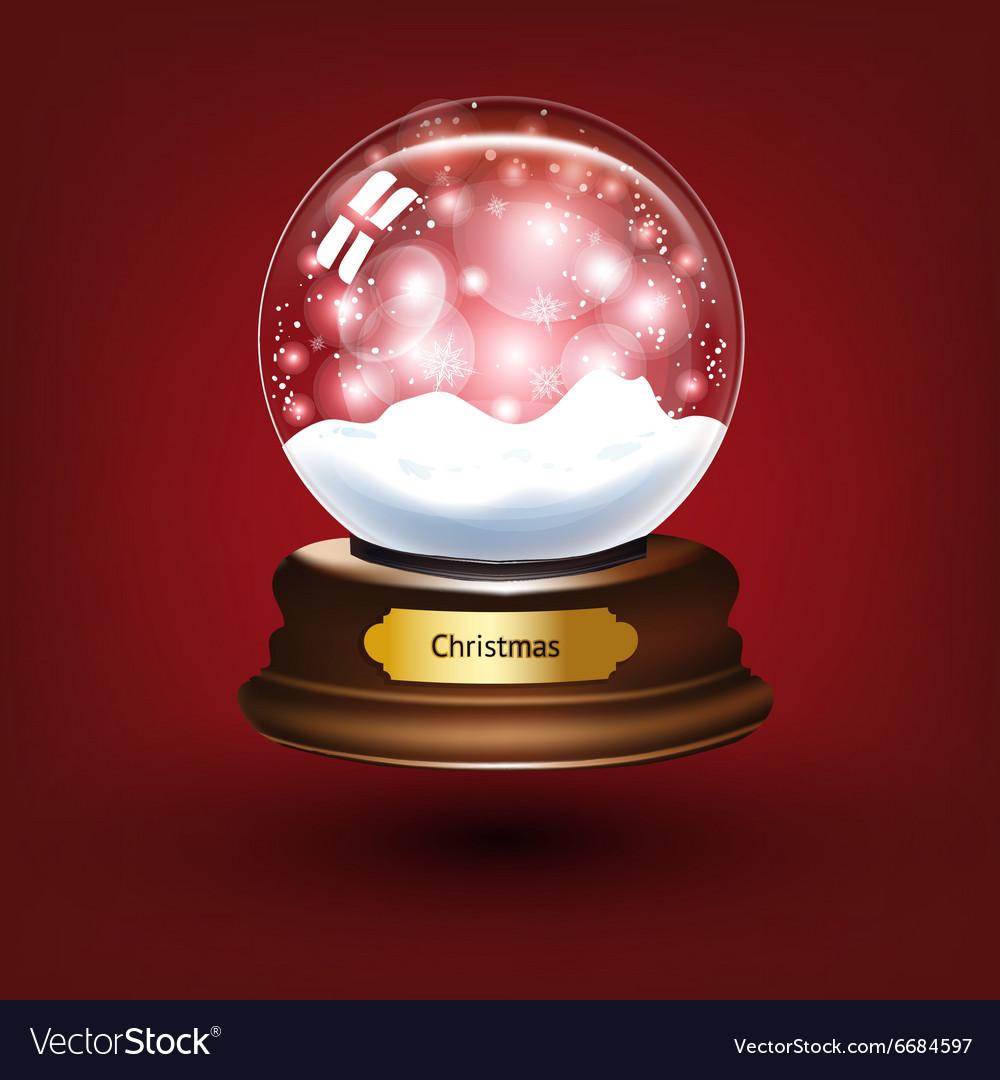 Snow Globe Background