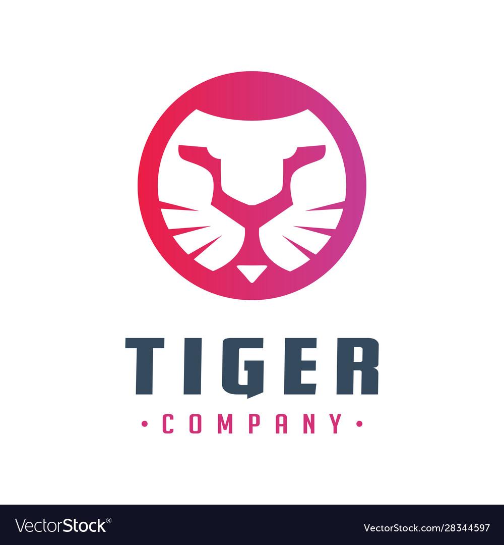 Tiger head logo design your company