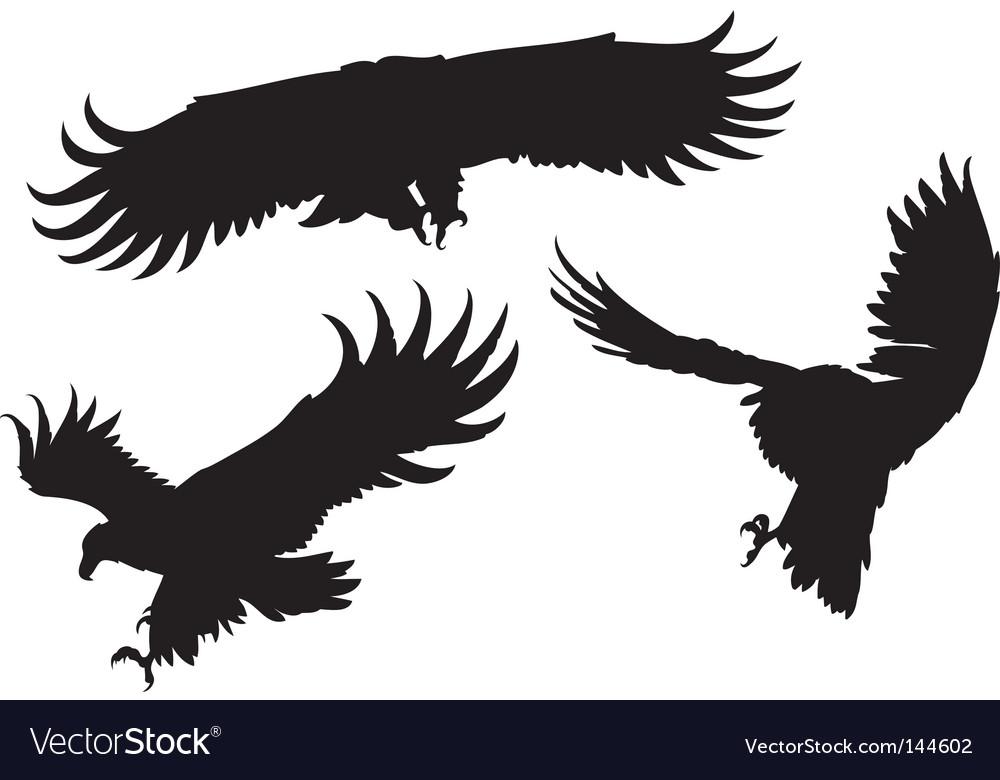 Eagles silhouettes