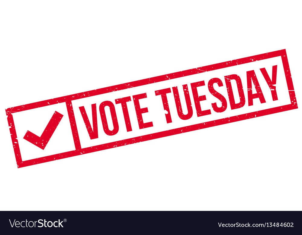 Vote Tuesday >> Vote Tuesday Vector Images 18