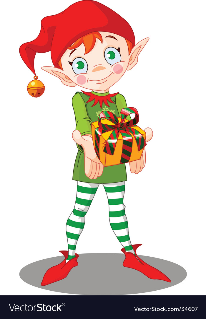Christmas elf gift