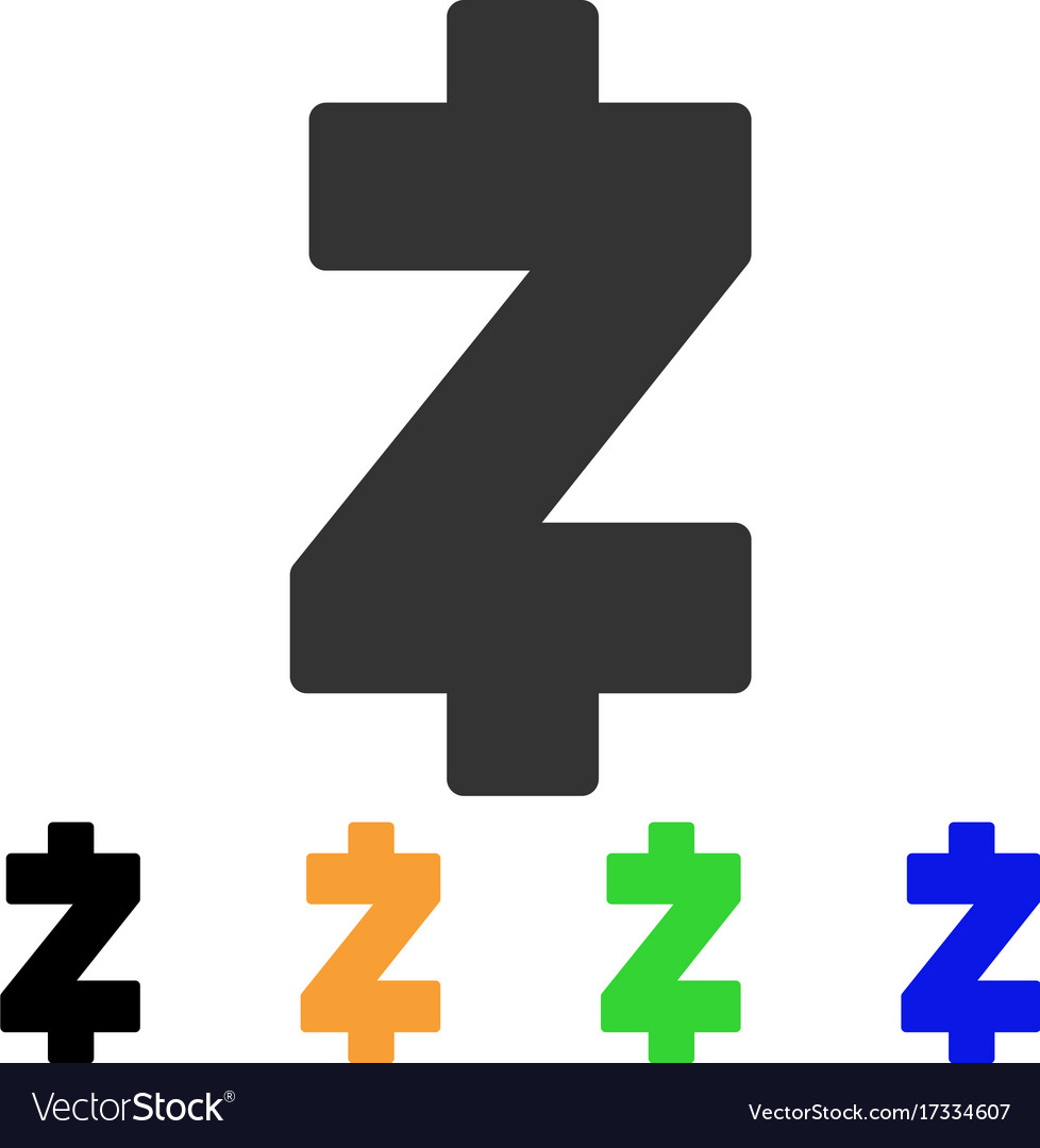 Zcash Icon Vector Image