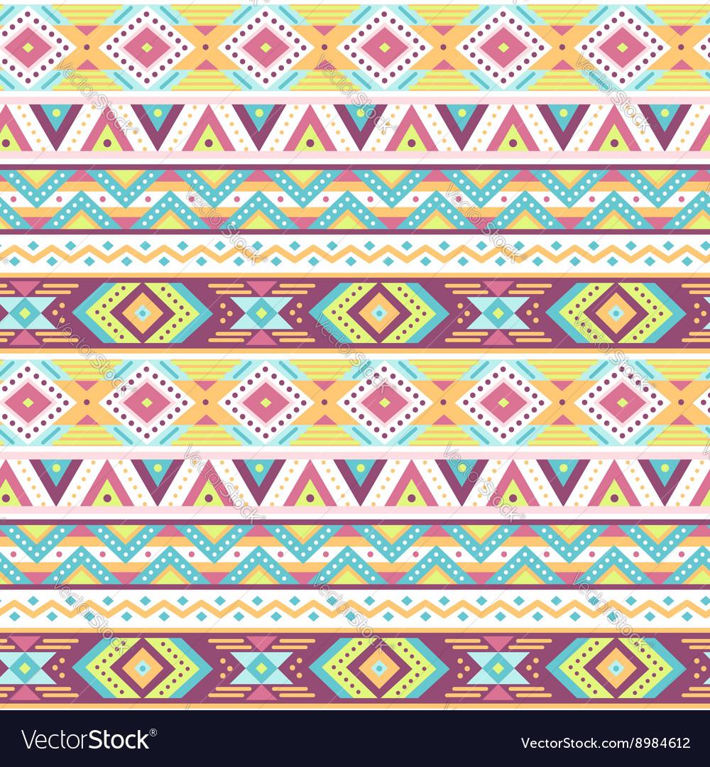 Ethnic pattern tropic white