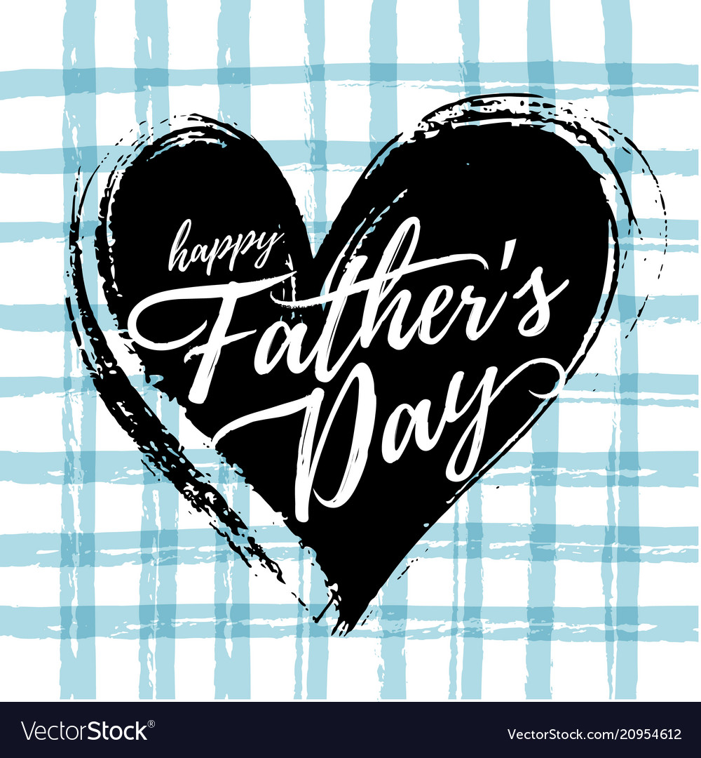 Fathers day card design