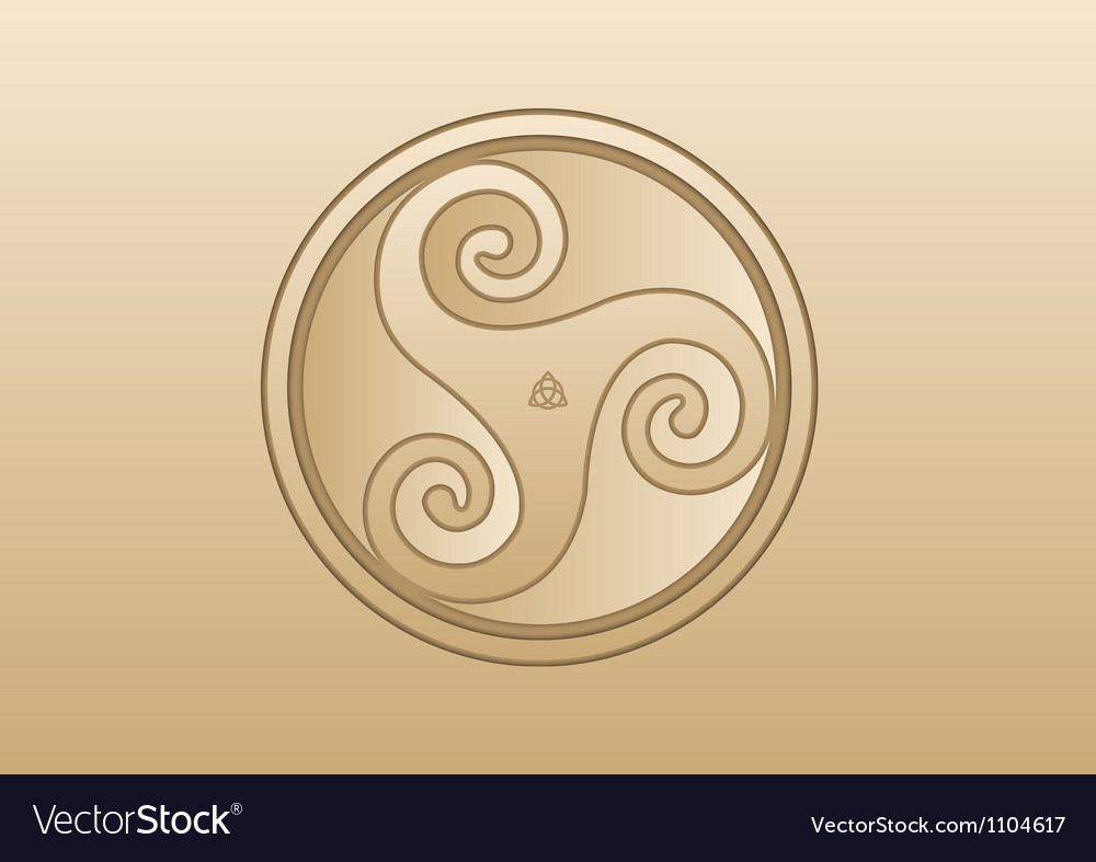 Abstract background celt