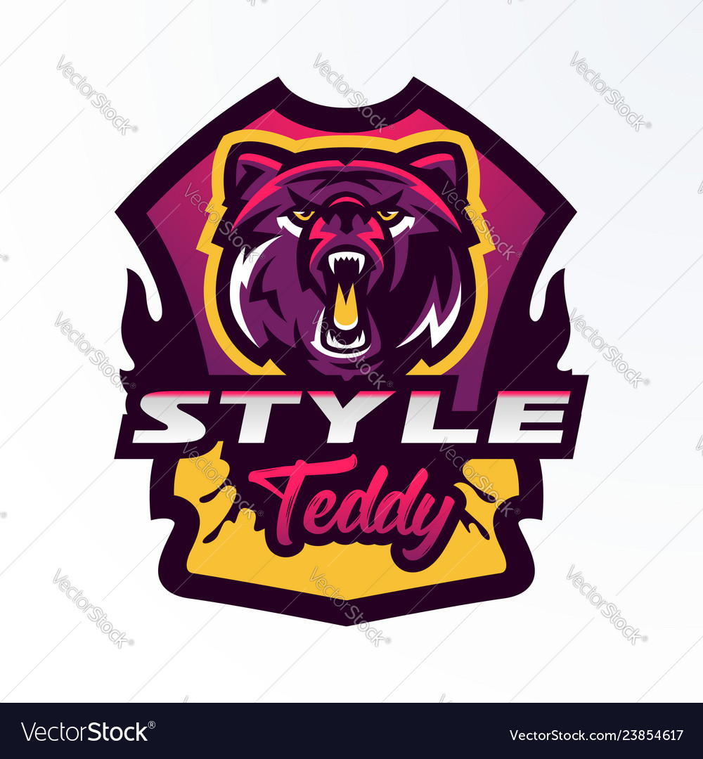 Colorful logo badge sticker emblem of a