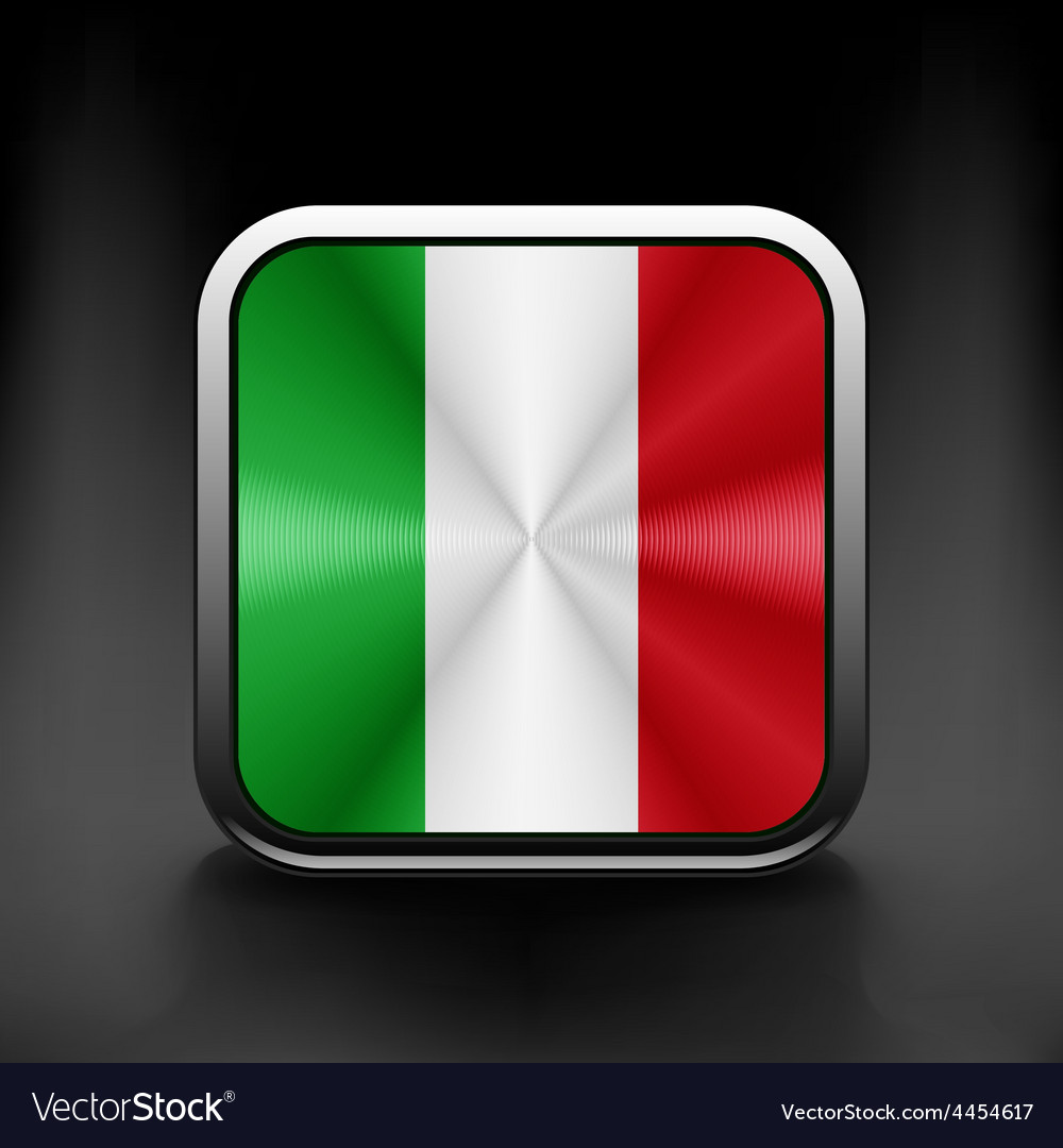 Italy icon flag national travel icon country
