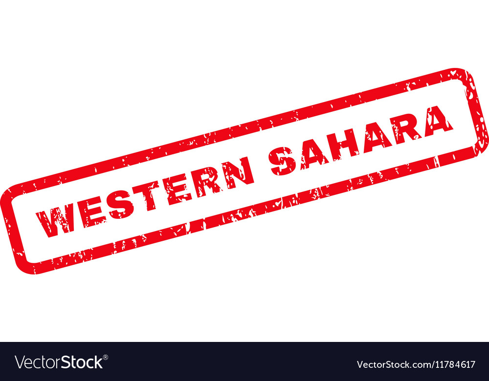 Western Sahara Rubber Stamp