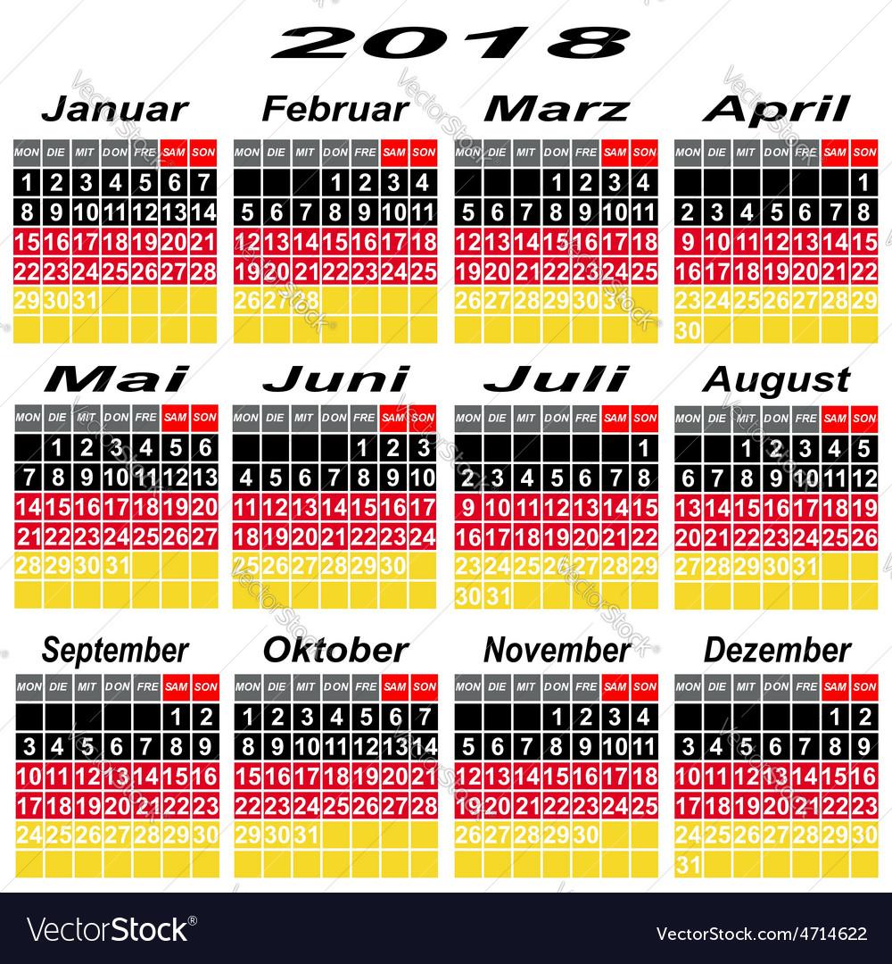 Calendar Event Personal Organizer Planning Term Ti Vector Image