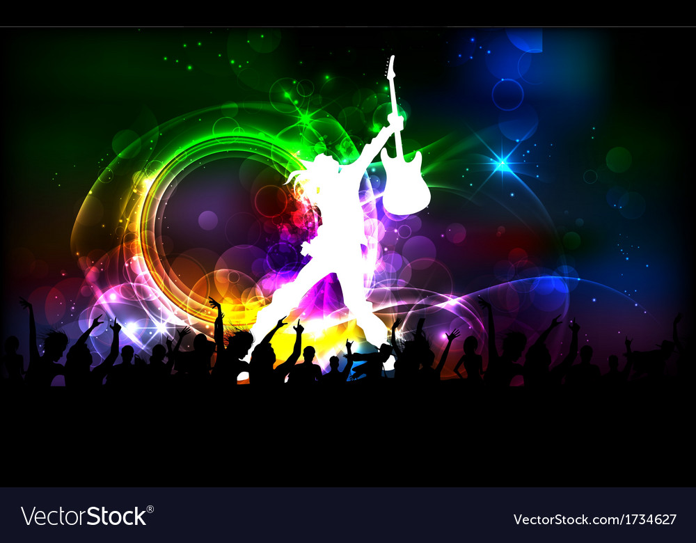 Rock Dancer vector image
