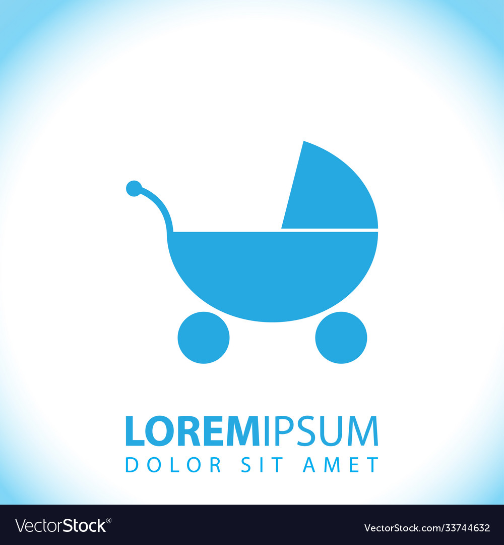 Baby carriage icon sign carriage carriage
