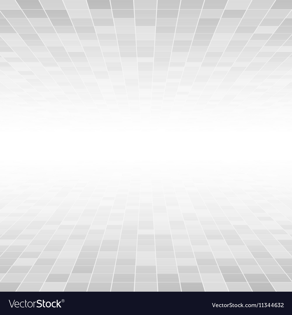 Grey Mosaic Tile Square Background Perspective