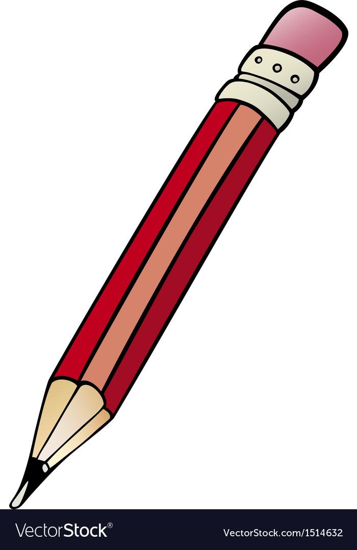Pencil clip art cartoon Royalty Free Vector Image (700 x 1080 Pixel)