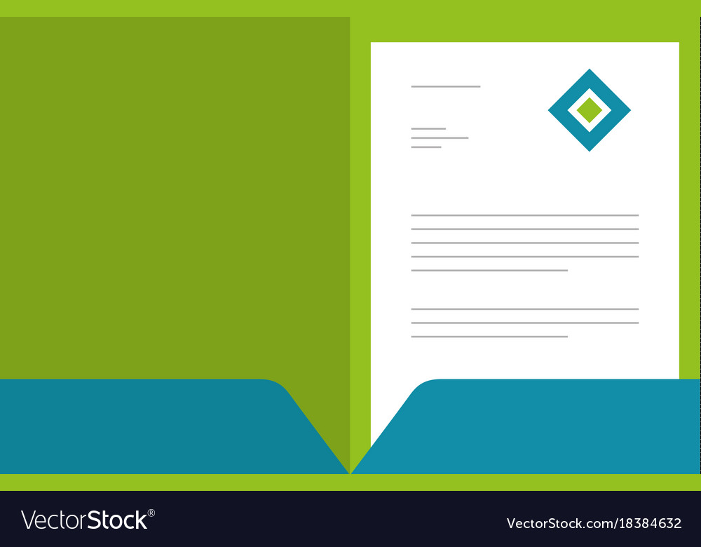 Professional business brochure template or