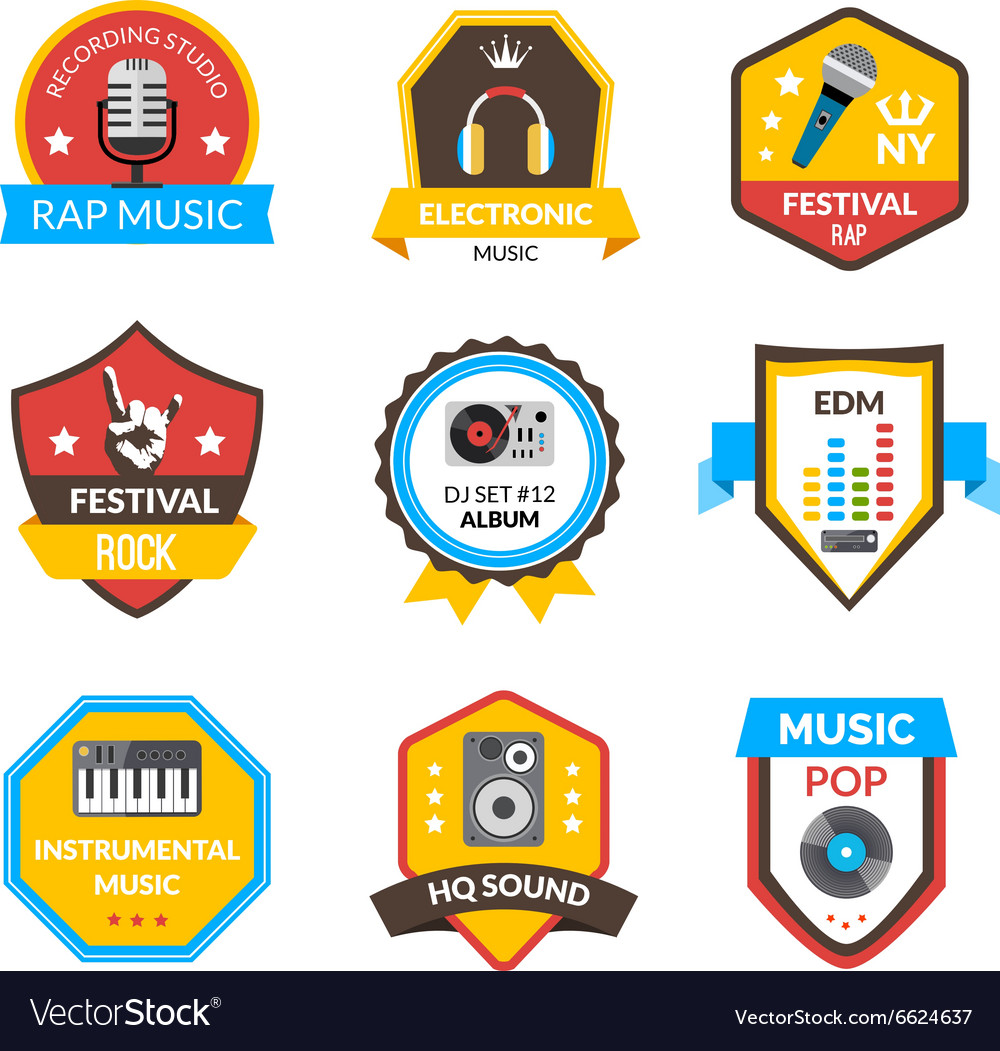 Music Label Set