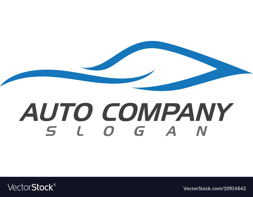 Auto car Logo Template vector image
