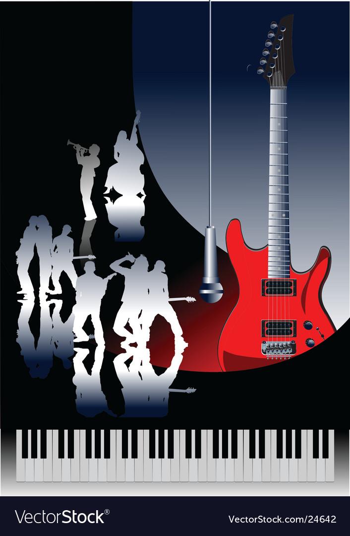 Piano guitar jazz